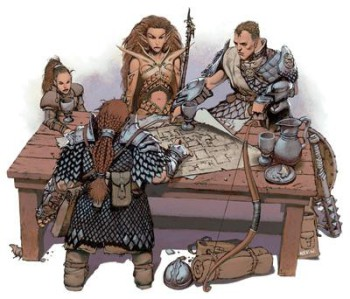 How many folks grew into D&D 3E with these Iconics?