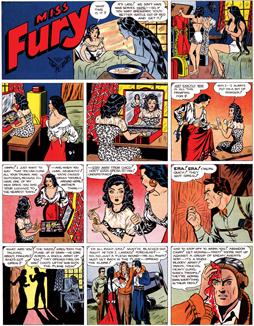 Miss Fury strip