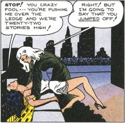 Miss Fury panel