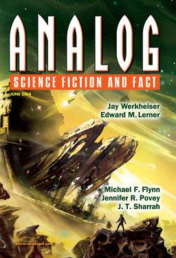 """Analog June 2014, containing """"The Journeyman: In the Stone House"""" by Michael Flynn"""