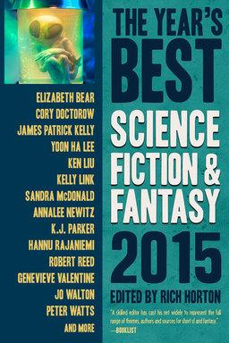 The Year's Best Science Fiction & Fantasy 2015-small