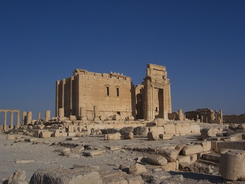 Temple of Baal at Palmyra, Syria, courtesy Erik Hermans (2008) and the Institute for the Study of the Ancient World.