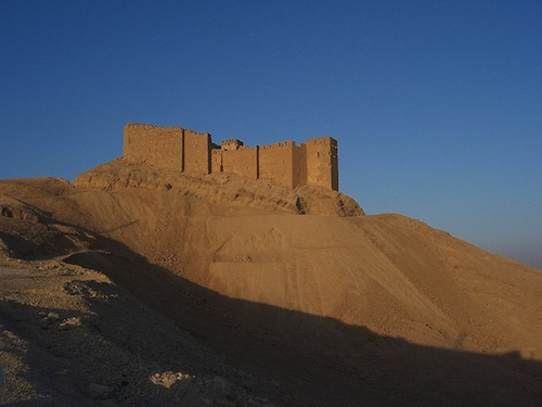 Arab Castle at Palmyra, Syria.