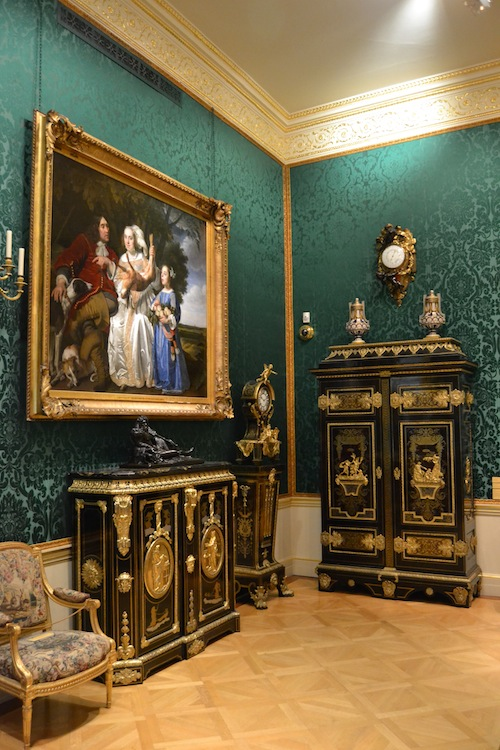 The other galleries of the Wallace Collection contain fine art and antique furniture.