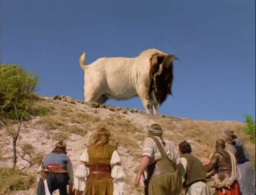 No one did giant disinterested goats better than Sinbad.
