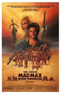 Mad Max Beyond Thunderdome poster-small