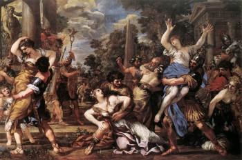 Rape of the Sabine Women, by Cortona