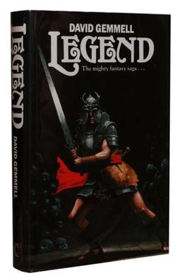 David Gemmell Legend First Edition-small