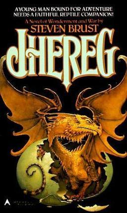 Jhereg cover by Stephen Hickman