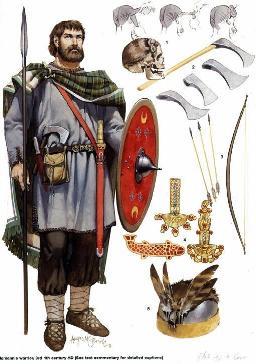 Osprey Germanic Warrior