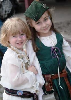 Ren Faire children