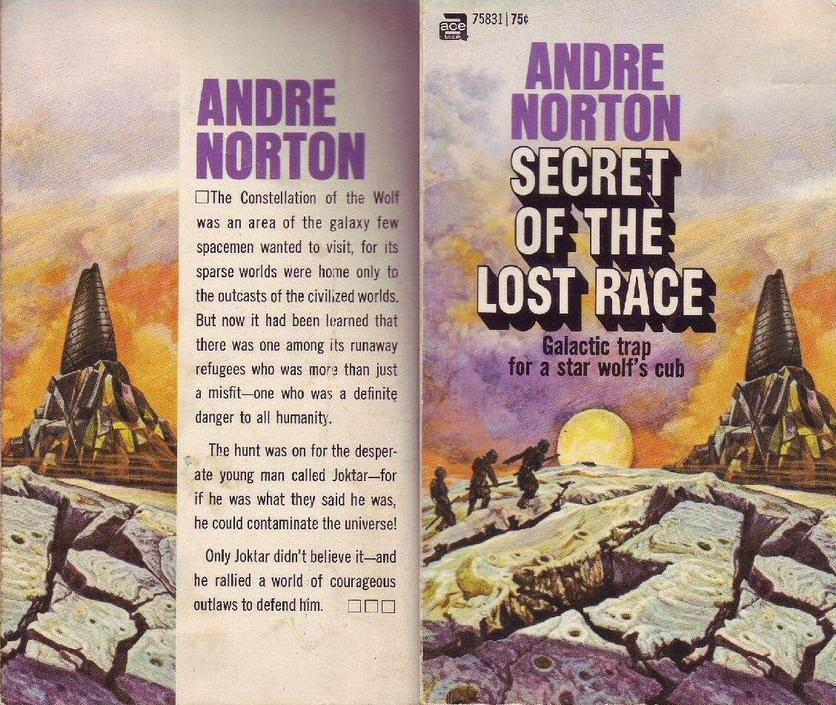 Secret of the Lost Race Andre Norton Ace-small