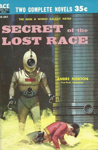 Secret of the Lost Race Andre Norton-small