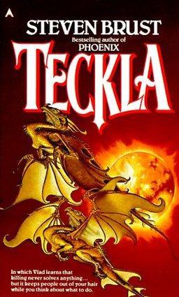 Teckla cover by Stephen Hickman