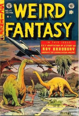 Weird Fantasy 17 Ray Bradbury-small