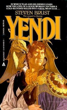 Yendi cover by Stephen Hickman