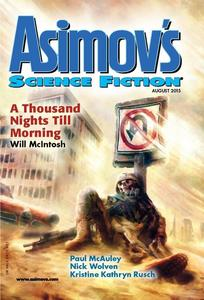 Asimov's Science Fiction August 2015-rack