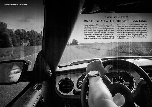 Black Static 47 On the Road with the American Dead by James Van Pelt