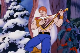 Pay a bard to tell your story, and they can afford things like shirts to protect them from snow as they lean against wintery trees singing about your awesome.