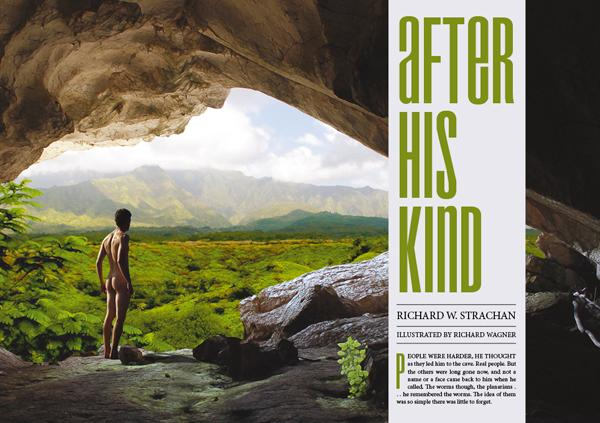 Interzone 259 After His Kind by Richard W. Strachan