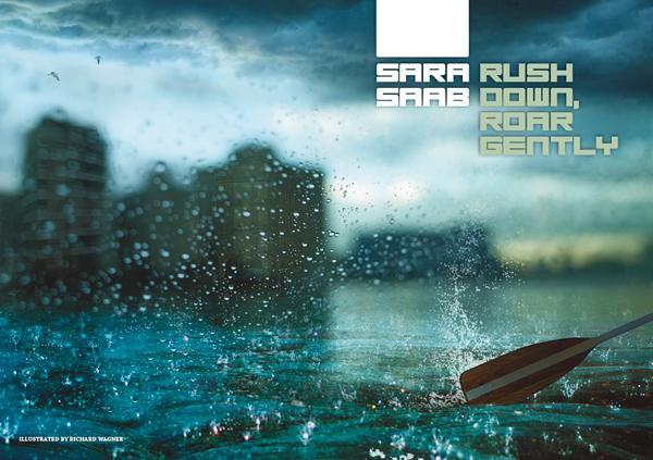Interzone 259 Rush Down, Roar Gently by Sara Saab