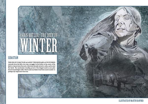 Interzone 259 The Deep of Winter by Chris Butler
