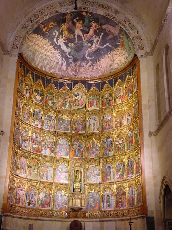 The apse of Salamanca's Old Cathedral. Photo courtesy Lourdes Cardenal