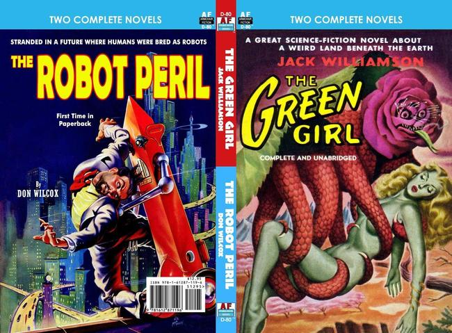 The Green Girl and The Robot Peril Jack Williamson Don Wilcox-small