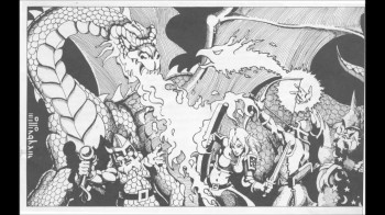 A classic from D&D Basic, and boy does it make me want to roll some dice.