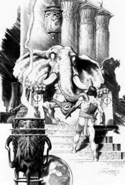 "Art for ""Tower of the Elephant"" by Mark Schultz"
