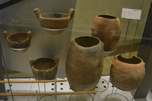 Punic pottery, evidence of Carthaginian visits.
