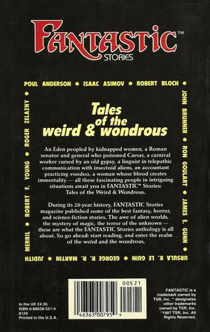 Fantastic Stories Tales of the Weird & Wondrous back-small