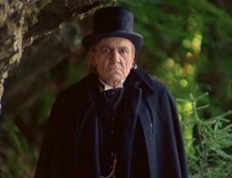 Eric Porter played a fine Moriarty opposite Jeremy Brett's Holmes.