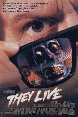 They Live movie poster-small
