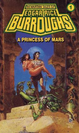 A Princess of Mars. Not written using sub-tasks