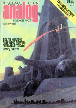 Analog, January 1976, containing the first installment of Children of Dune