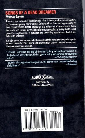 Songs of a Dead Dreamer paperback-back-small