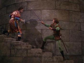 Sword fight in Robin Hood-small
