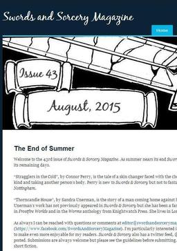 Swords and Sorcery Magazine August 2015-small