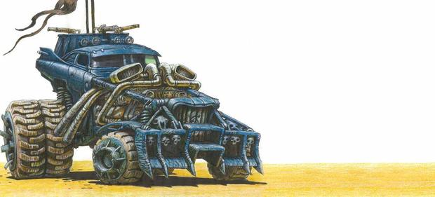 The Art of Mad Max Fury Road cars-small