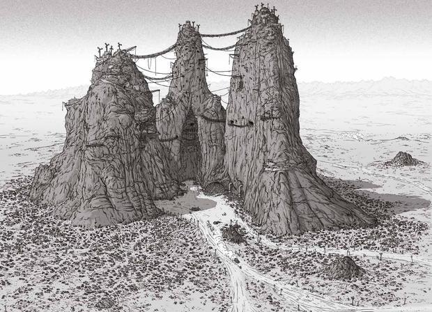 The Art of Mad Max Fury Road citadel 2-small