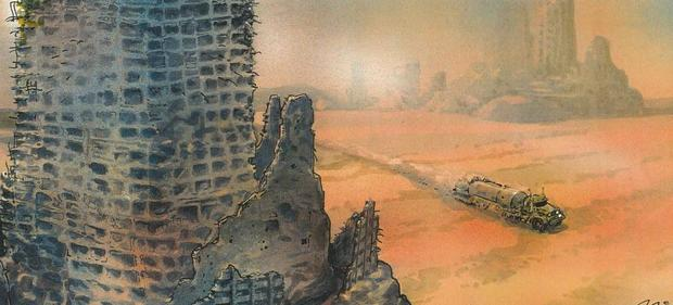 The Art of Mad Max Fury Road concept art-small