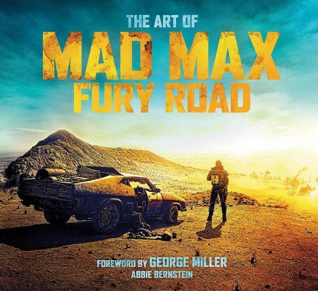 The Art of Mad Max Fury Road cover