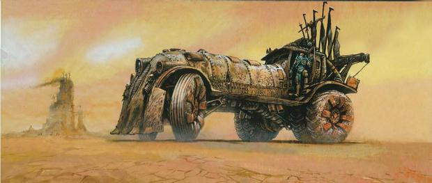The Art of Mad Max Fury Road truck 2-small