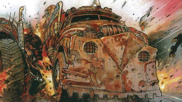 The Art of Mad Max Fury Road truck-small