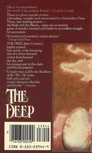 The Deep John Crowley back-small
