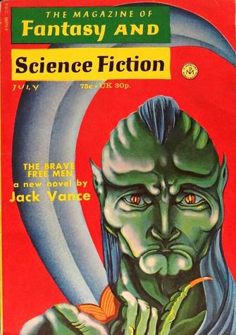 The Magazine of Fantasy and Science Fiction July 1972-small