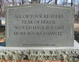 Write on your own tombstone. Is there anything the Internet won't do? What a world we live in, people. What a world.