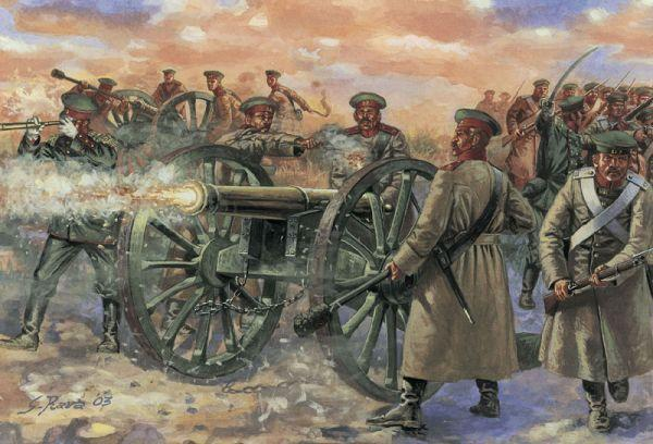 Crimean War Russian Artillery Battery