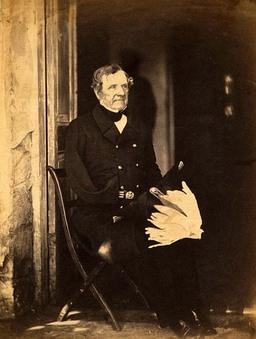 Field Marshal Fitzroy Somerset, 1st Baron Raglan, 1855 (Roger Fenton photo All World Wars website)
